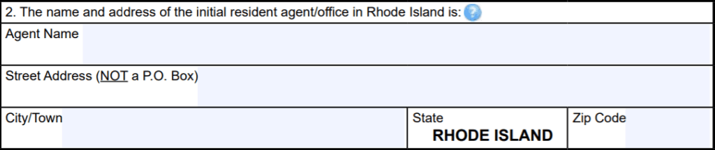 Rhode Island Resident Agent Requirement