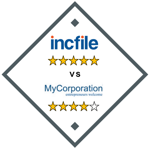 IncFile vs MyCorporation