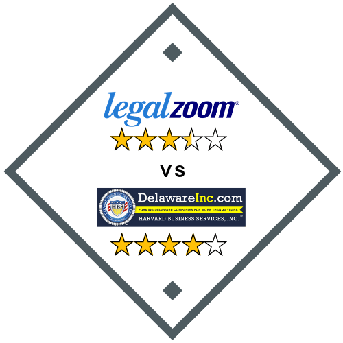 LegalZoom vs Harvard Business Services